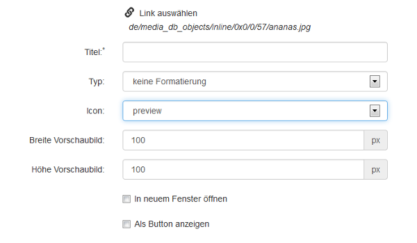 Neues Link-Icon preview