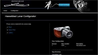 Konfiguration einer Kamera