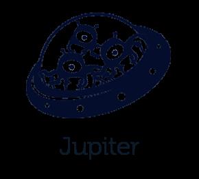 Modell Jupiter