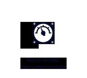 Retro-Instrumententafel
